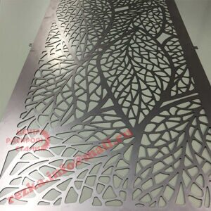 Leaf-design-laser-cut-metal-in-mild-steel